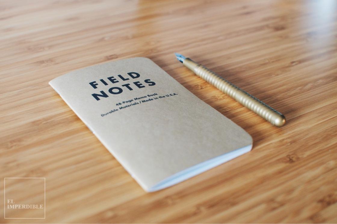 Field Notes los mejores cuadernos de bolsillo