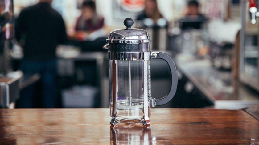 Cafetera de émbolo La mejor cafetera para casa