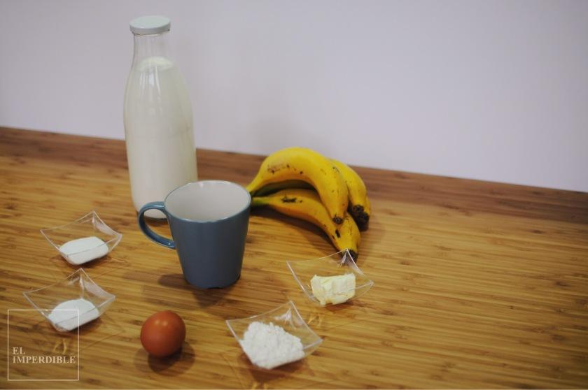 como hacer un mugcake de plátano en casa receta rápida y sencilla