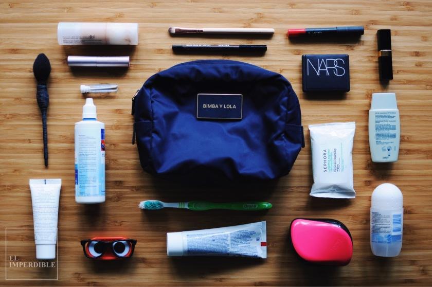 Como preparar el Neceser de viaje perfecto
