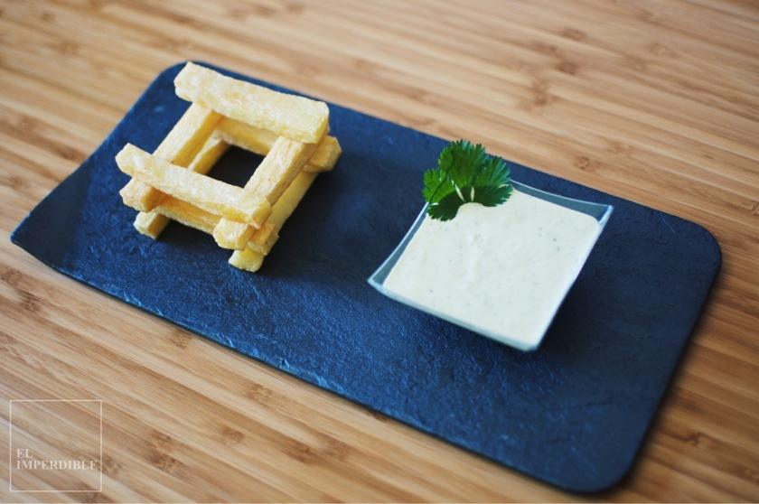 Mayonesa de aguacate y lima Receta de Salsa casera para patatas fritas salsas caseras