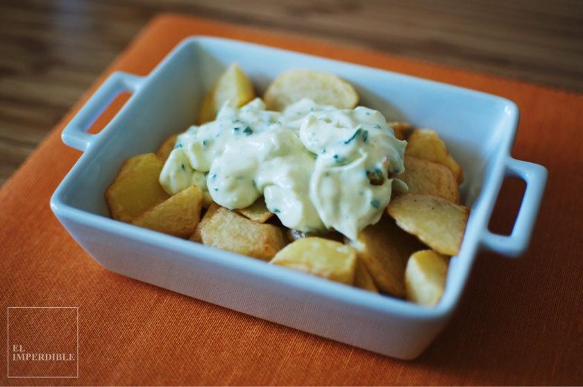 Ali-Oli Receta de Salsa casera para patatas fritas salsas caseras