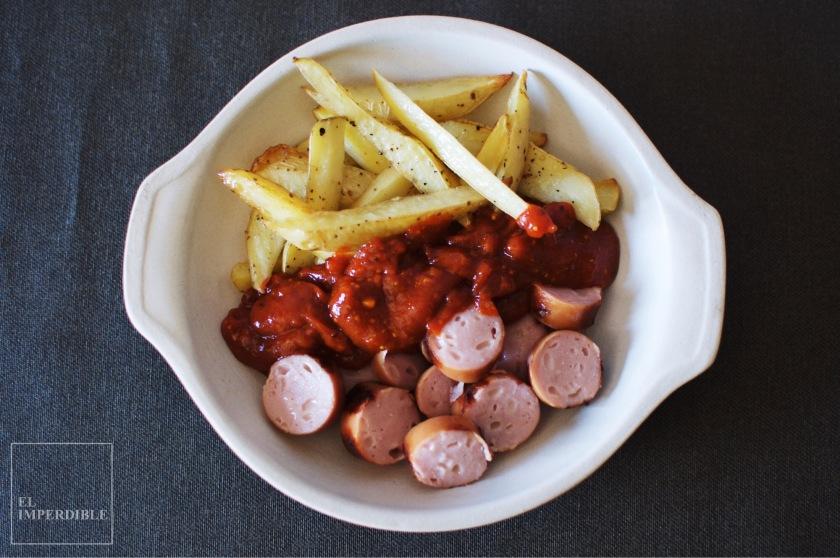 Currywurst Receta de Salsa casera para patatas fritas salsas caseras