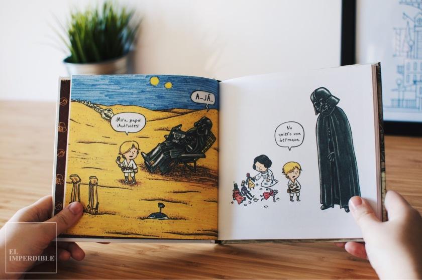 Darth Vader e hijo Jeffrey Brown La vida cotidiana de Darth Vader