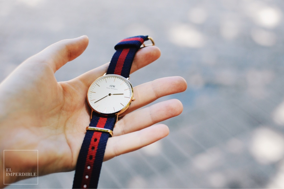 Daniel Wellington reloj bueno bonito y barato