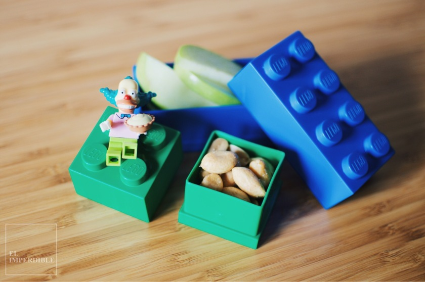 Fiambrera Lego comida para llevar