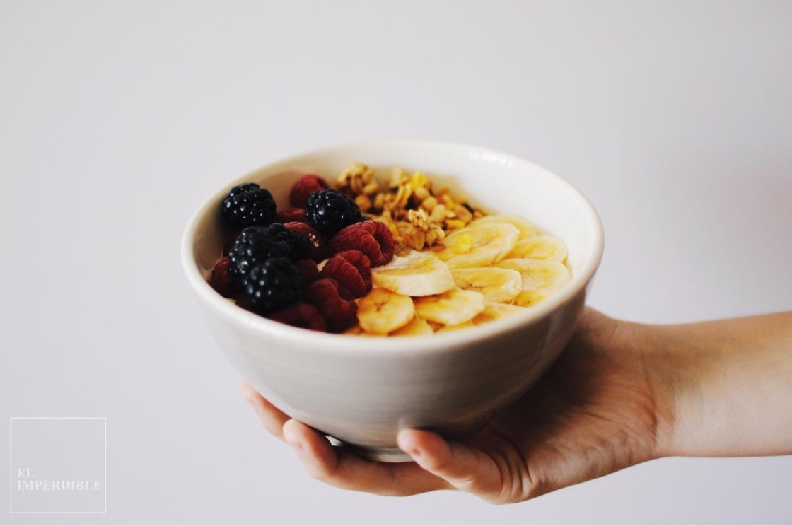 Bol de granola cómo hacer un Brunch sin gluten recetas