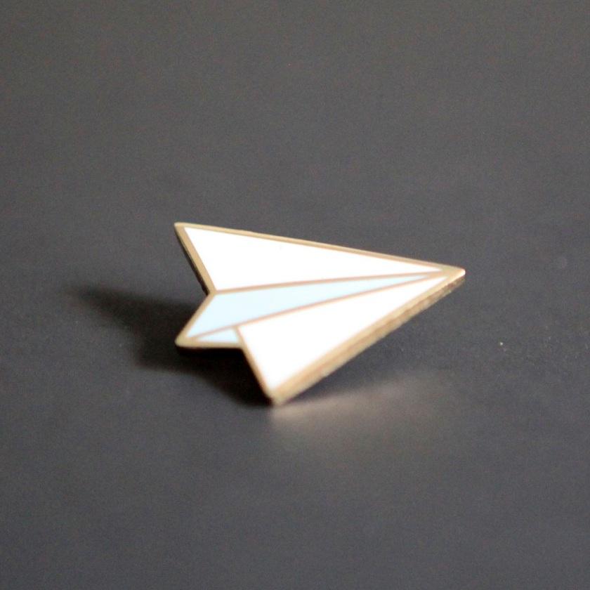 Pins - Avión de papel