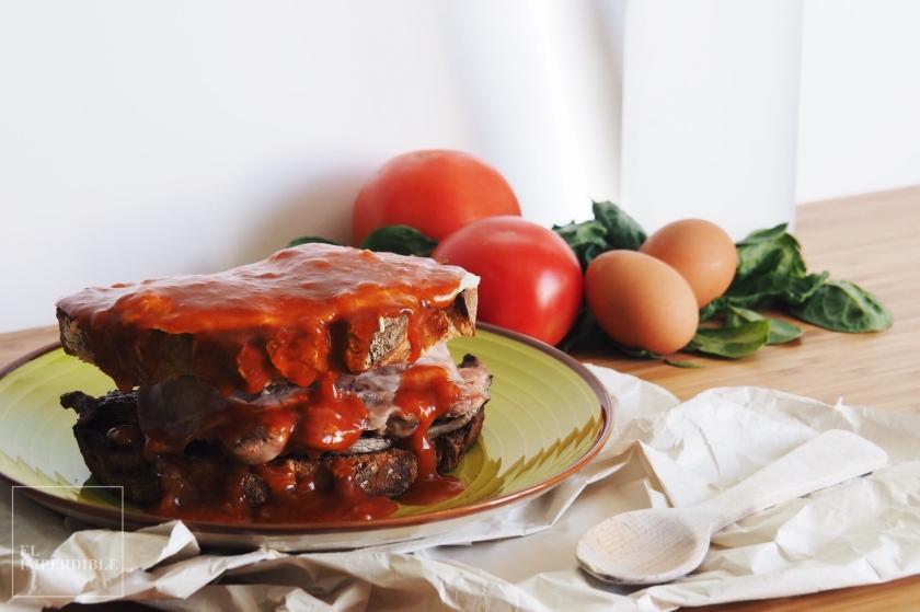 Sandwich Francesinha Francesiña receta sencilla