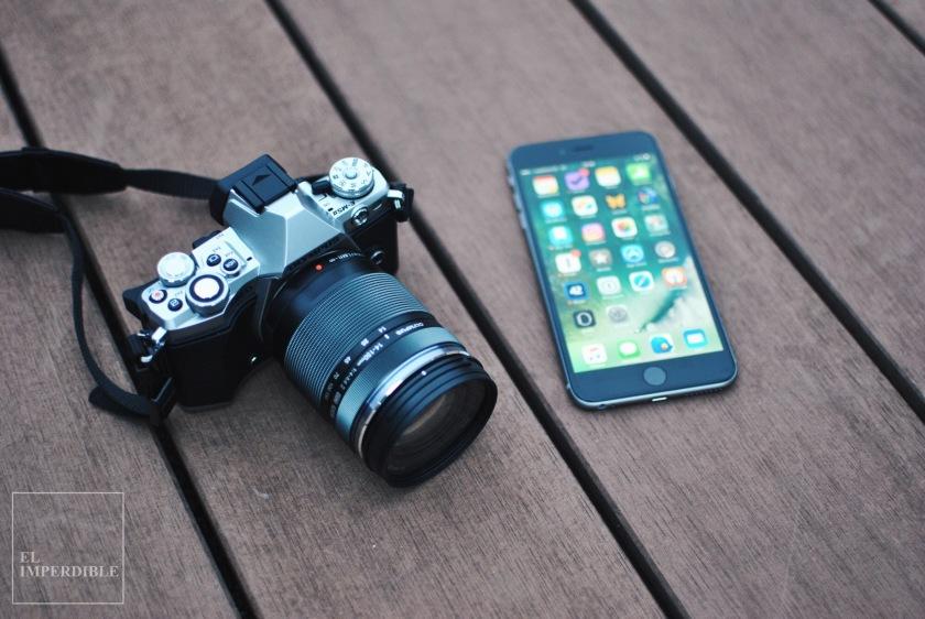 Olympus OM-D E-M5 MK II - iPhone Plus Por qué comprarse una cámara de fotos