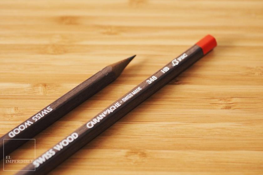 Caran D'Ache Swiss Wood 348 Los mejores lápices