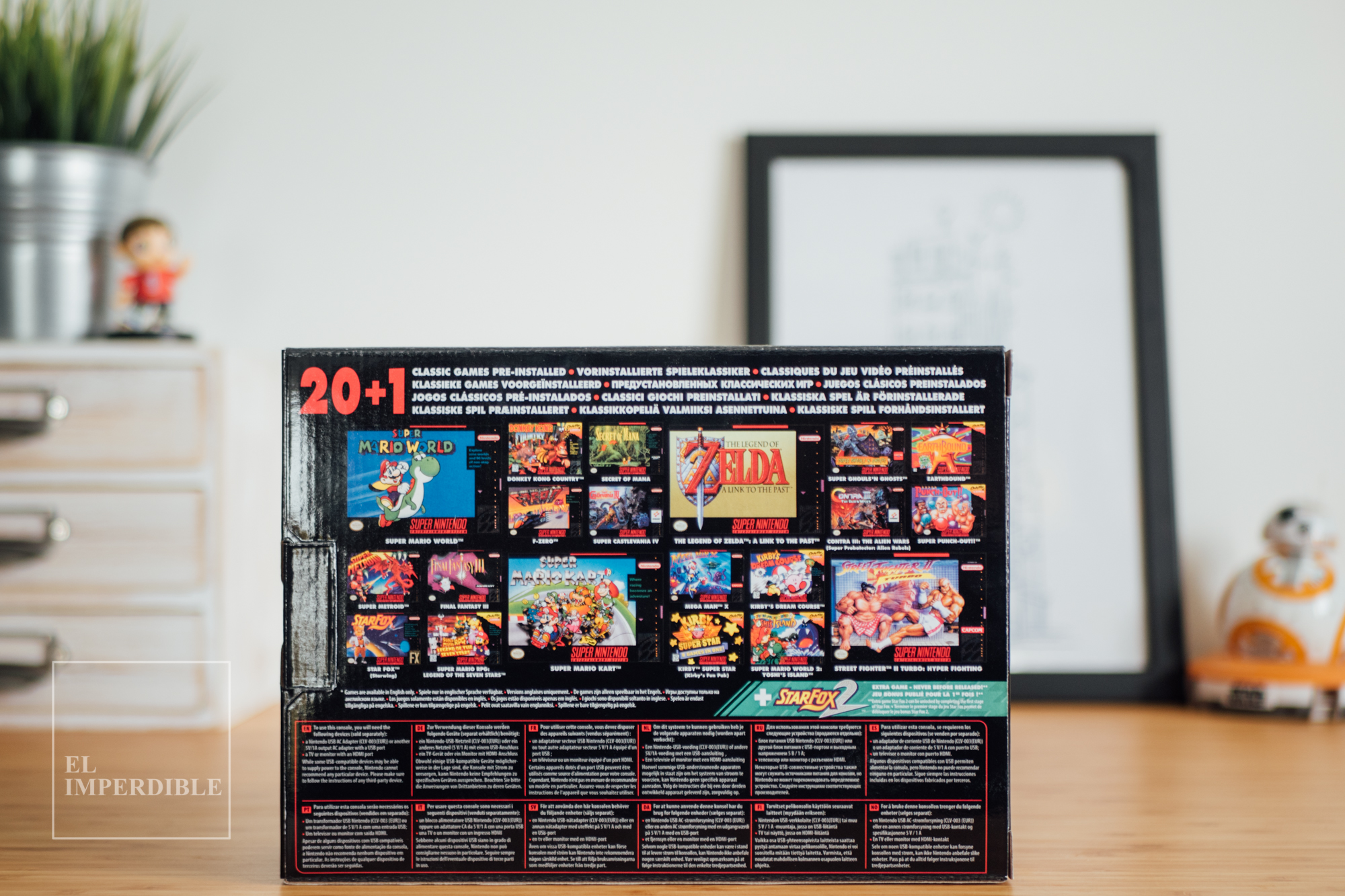 Realmente merece la pena comprar la SNES Classic Mini