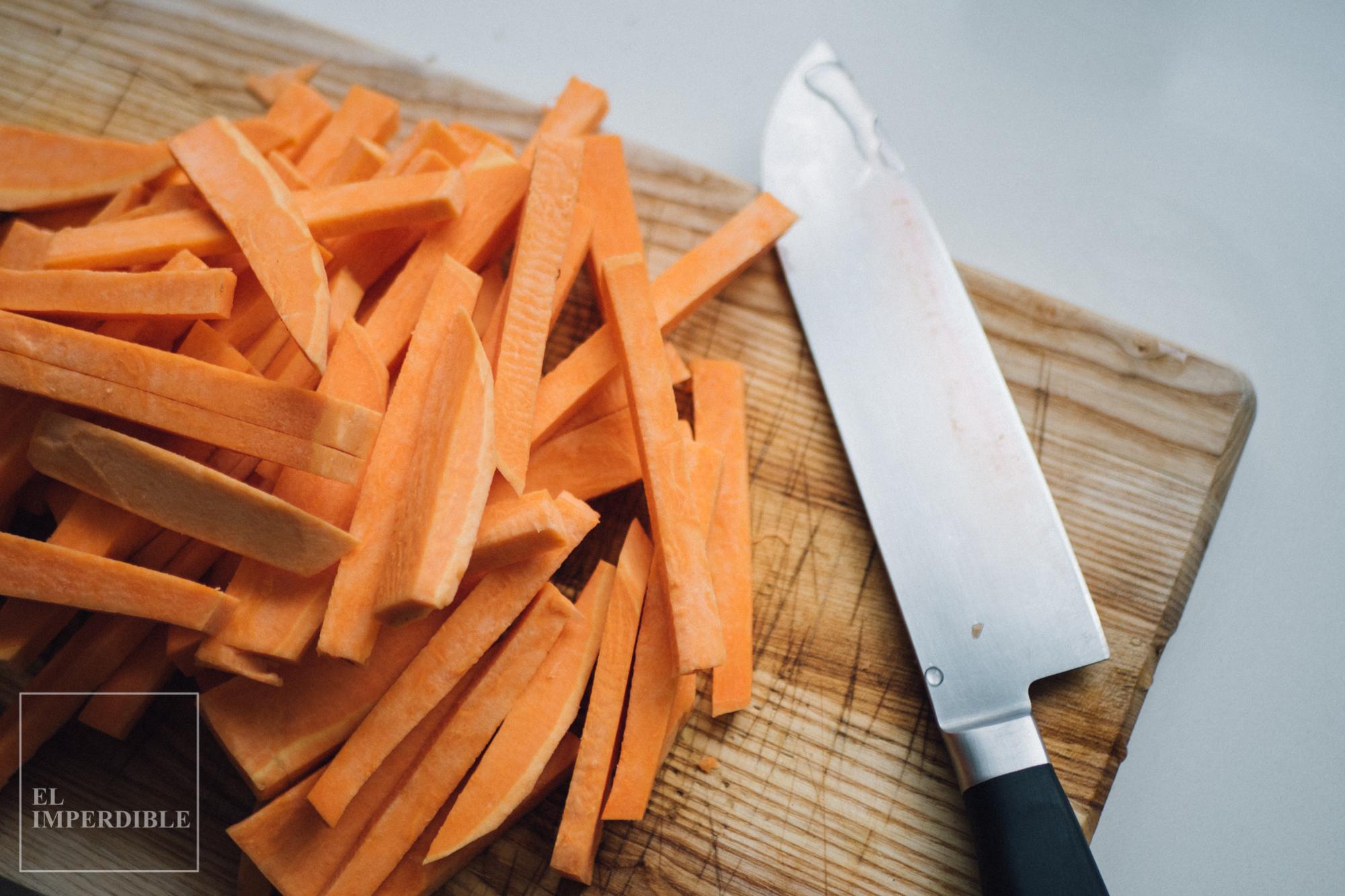 Receta Cómo hacer boniato al horno con especias