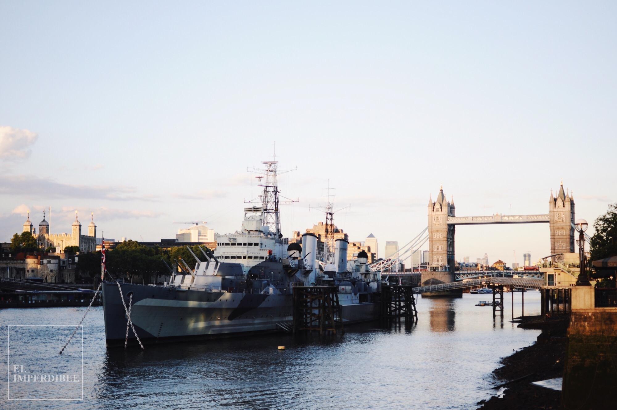 HMS Belfast Tower Brigde Lugares que visitar en Londres