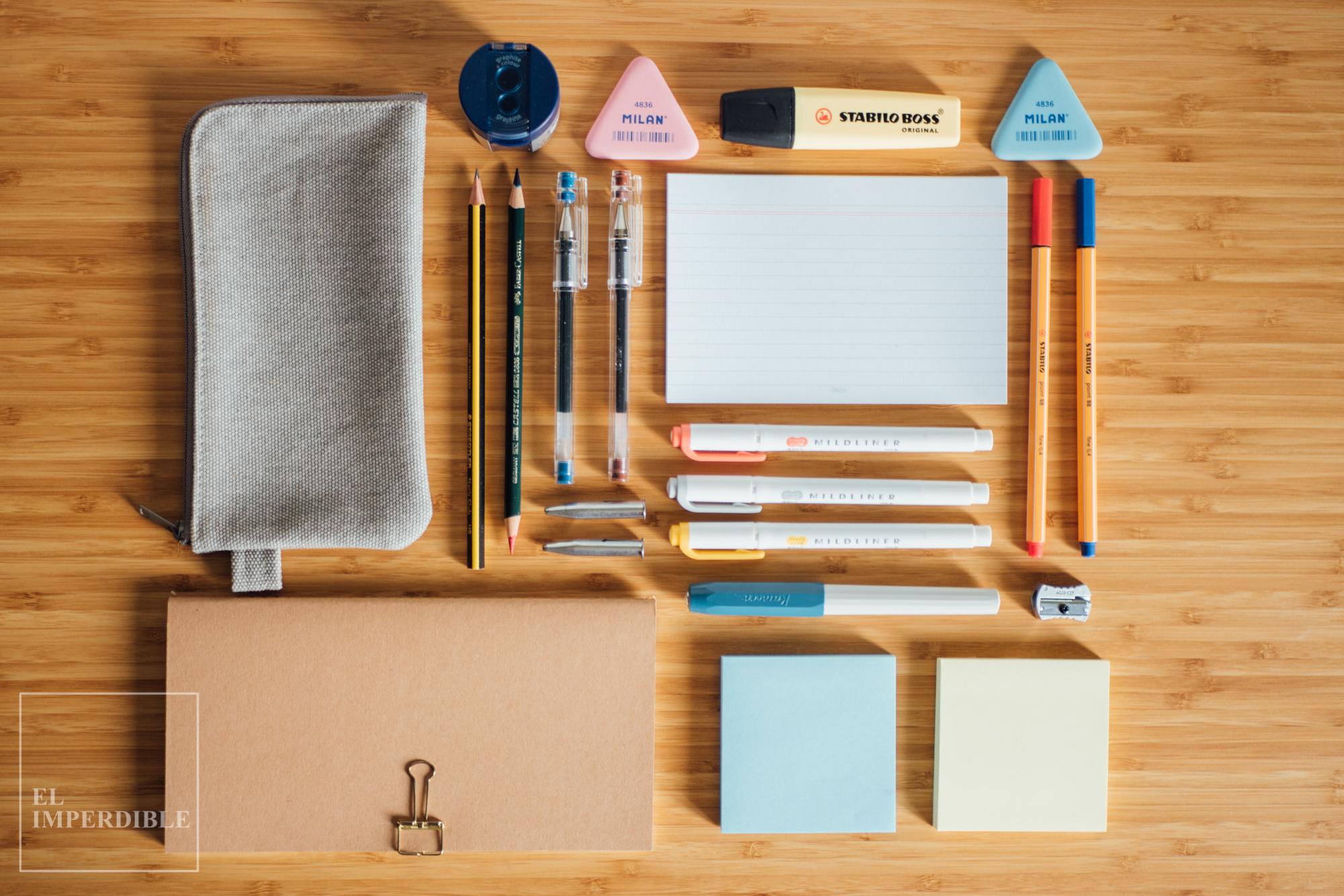 Kit de papelería buena, bonita y barata para disfrutar escribiendo