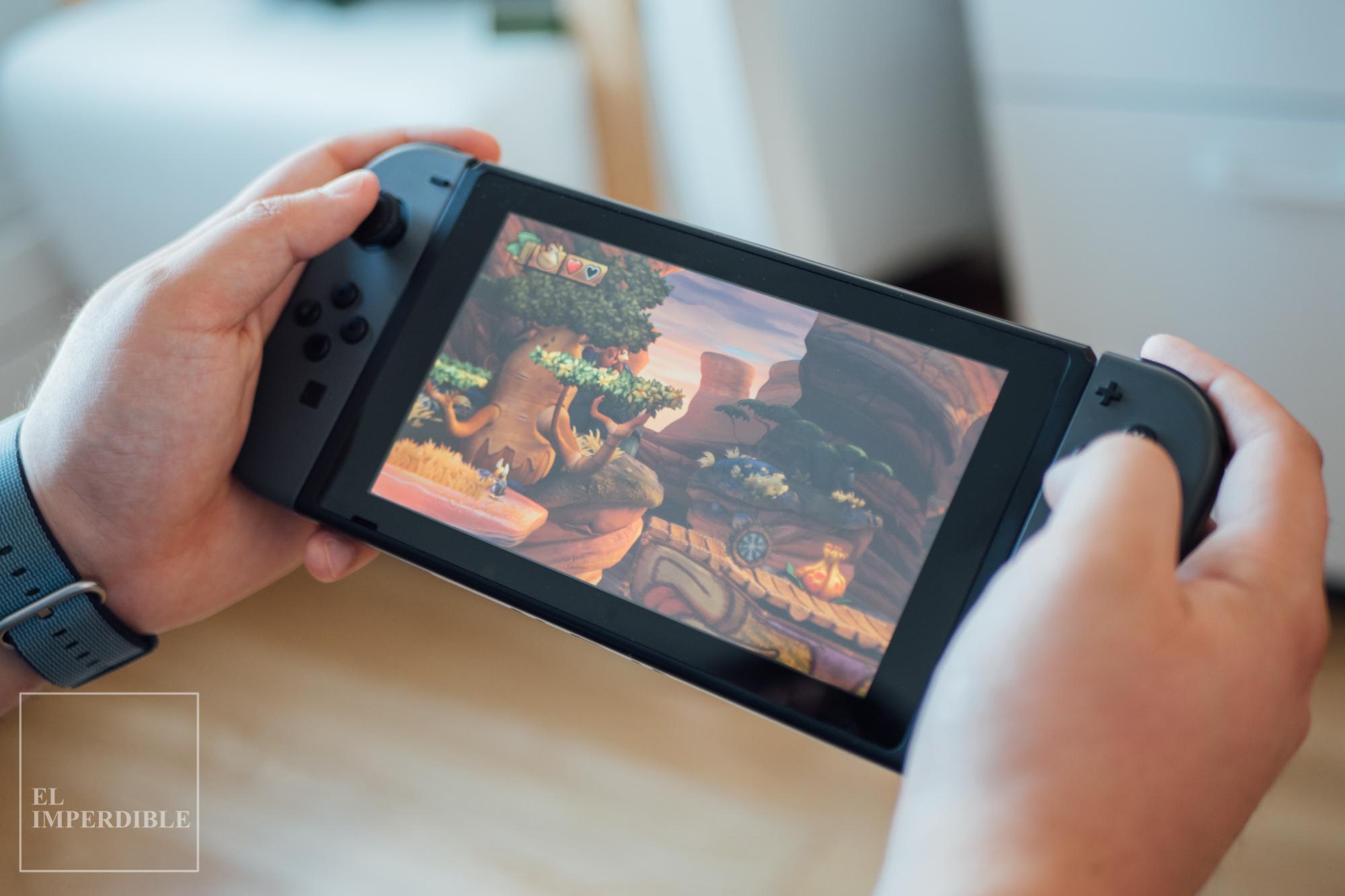 Donkey Kong Tropical Freeze Los mejores juegos para nintendo Switch