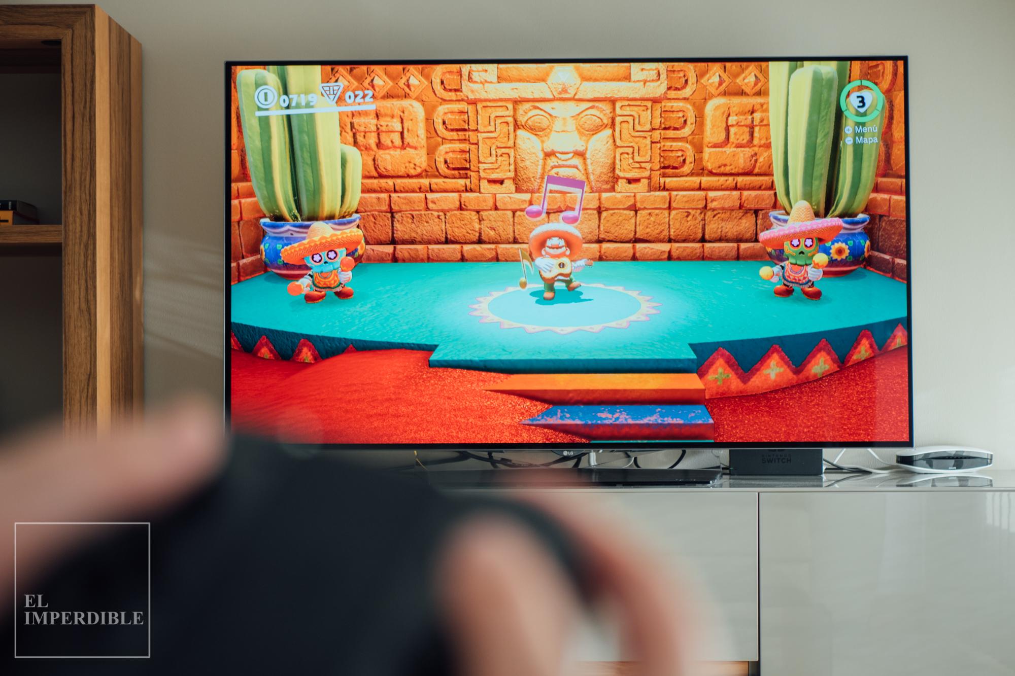 Super Mario Odyssey Los mejores juegos para nintendo Switch