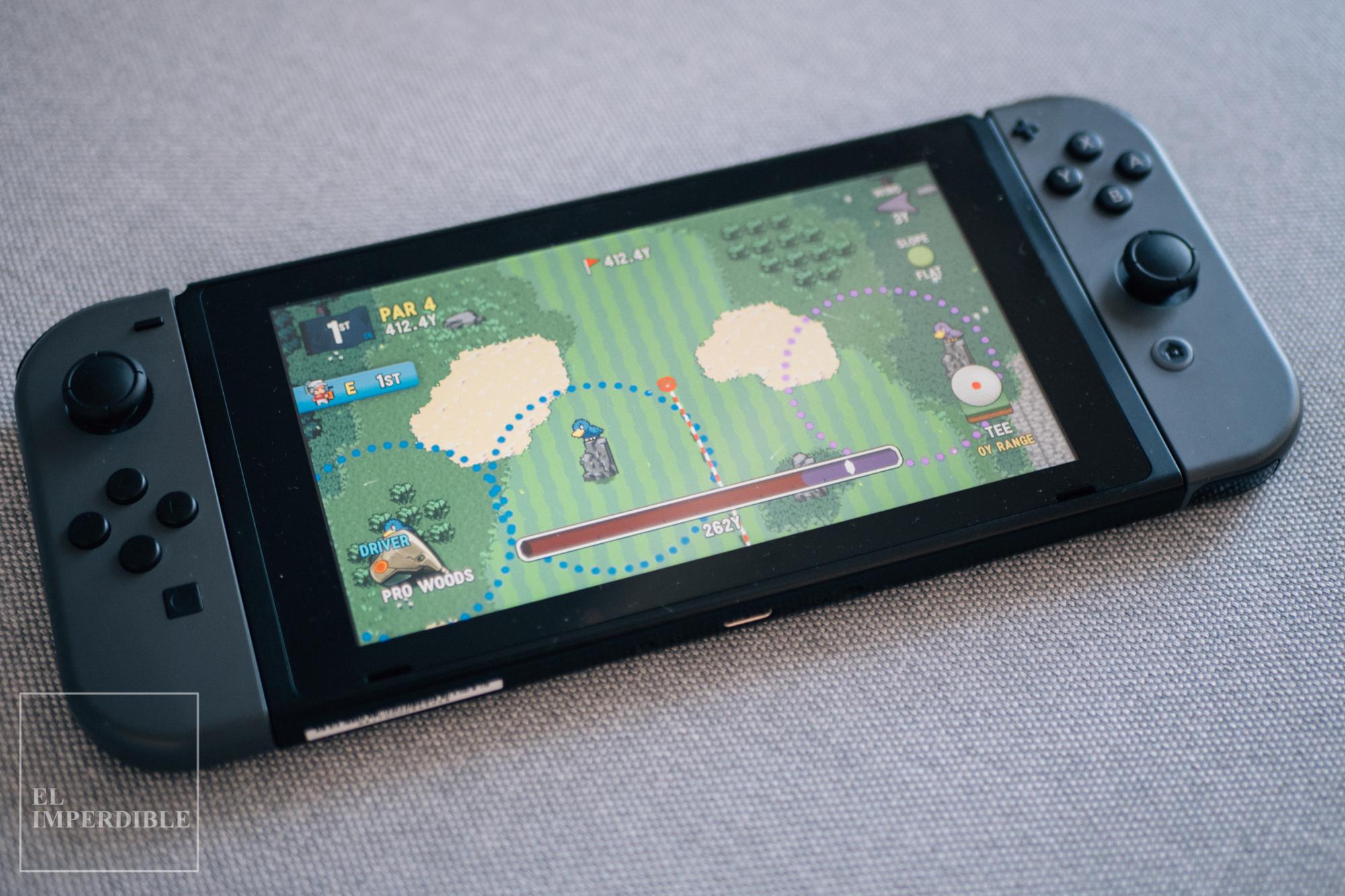 Golf Story Los mejores juegos para nintendo Switch