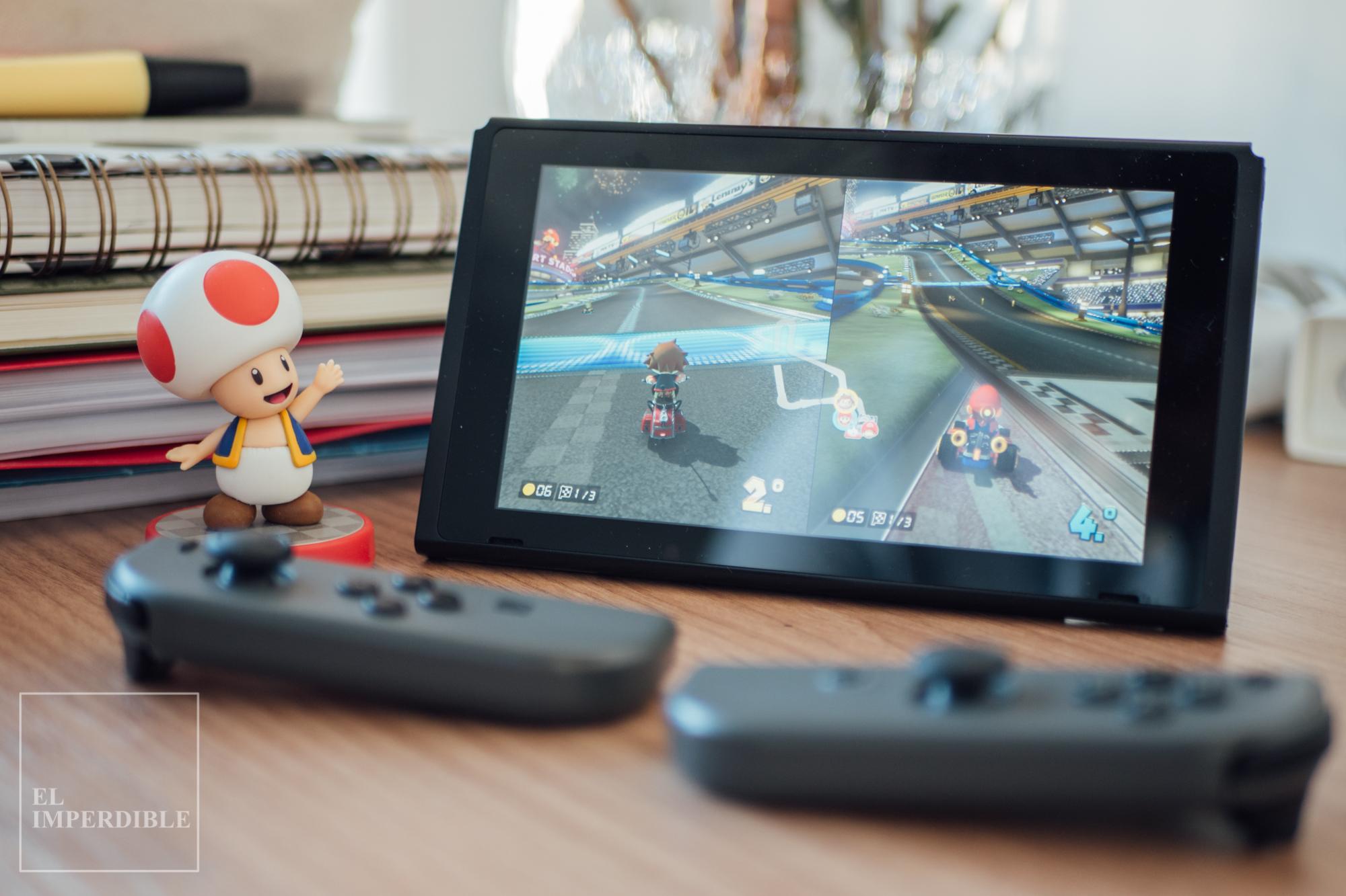 Mario Kart 8 Deluxe Los mejores juegos para nintendo Switch