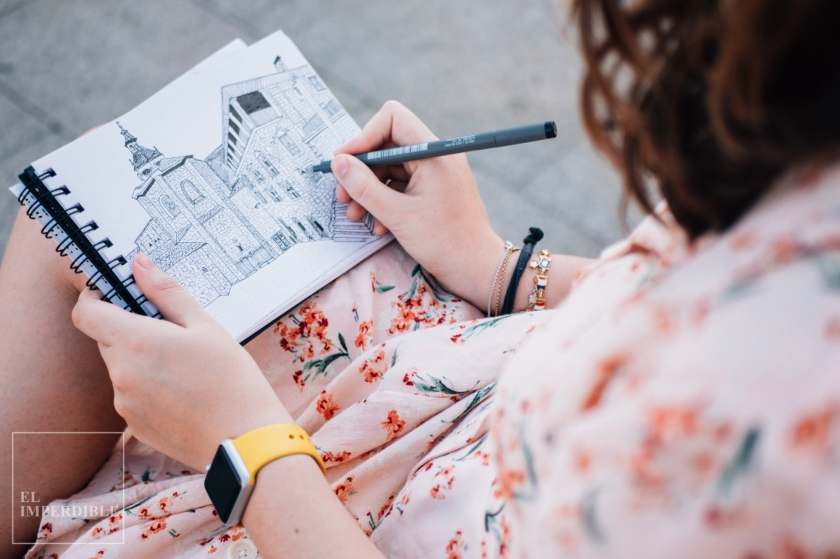 kit de dibujo para tu cuaderno de viaje