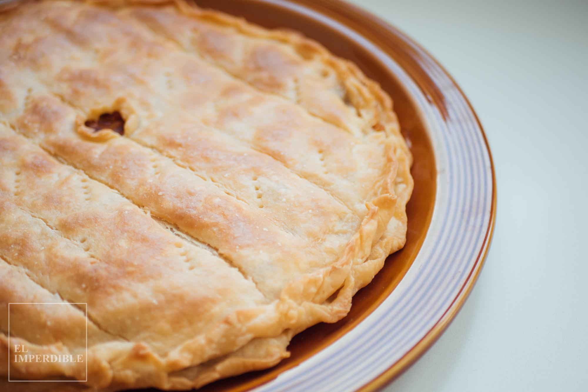 Cómo hacer empanada de bacalao - Receta gallega rápida y sencilla
