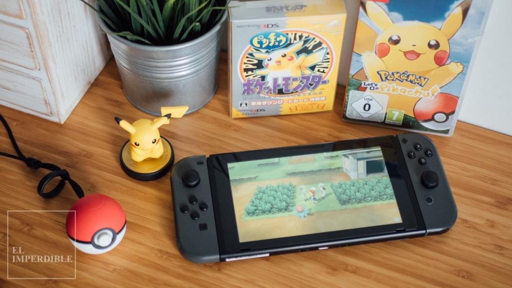 Pokémon Let's Go Pikachu Eevee Los mejores juegos para Nintendo Switch