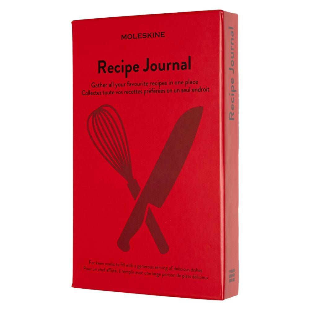 moleskine cuaderno recetas - regalos para los que les gusta comer y cocinar