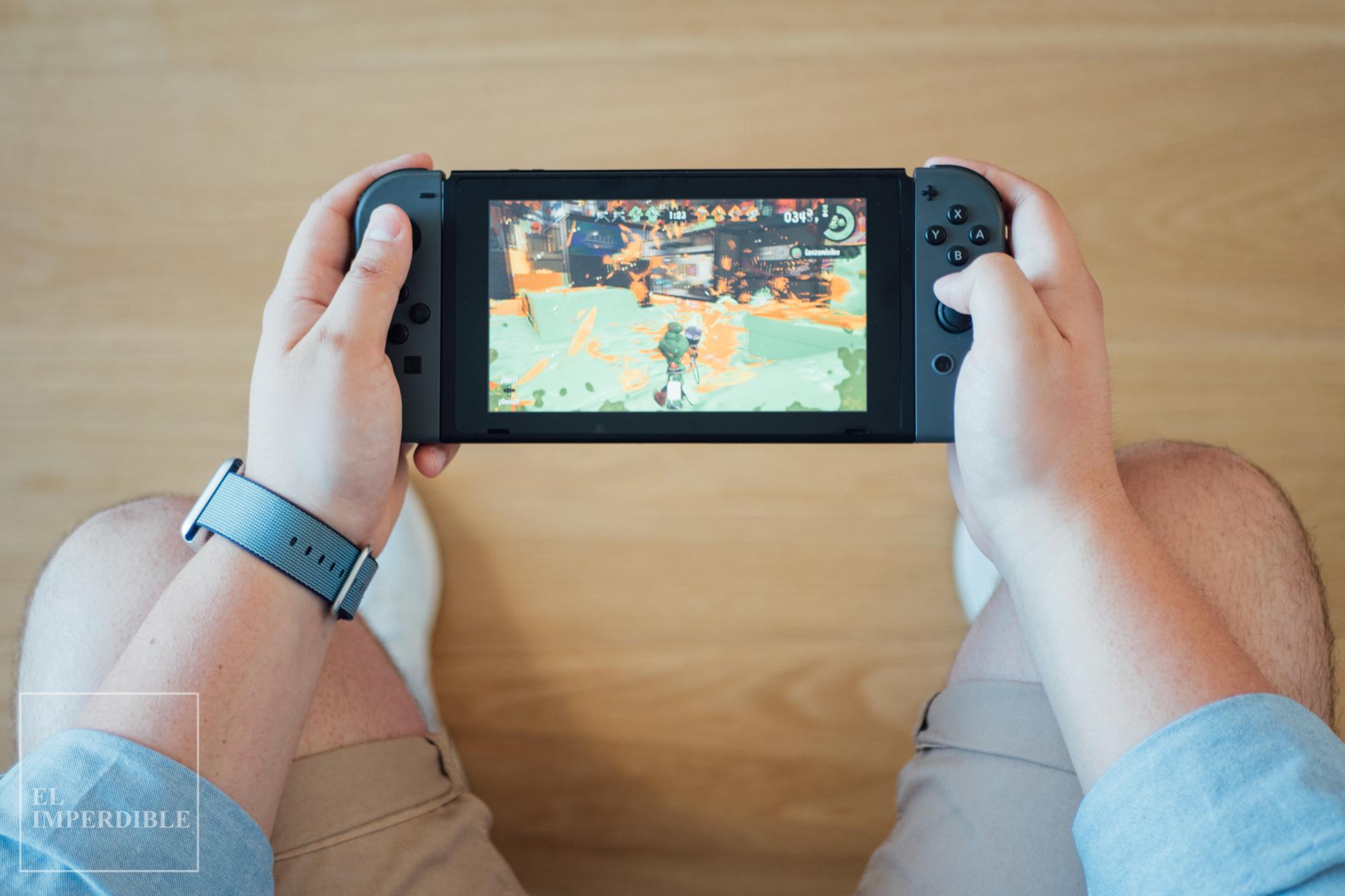 Splatoon 2 los mejores juegos para Nintendo switch