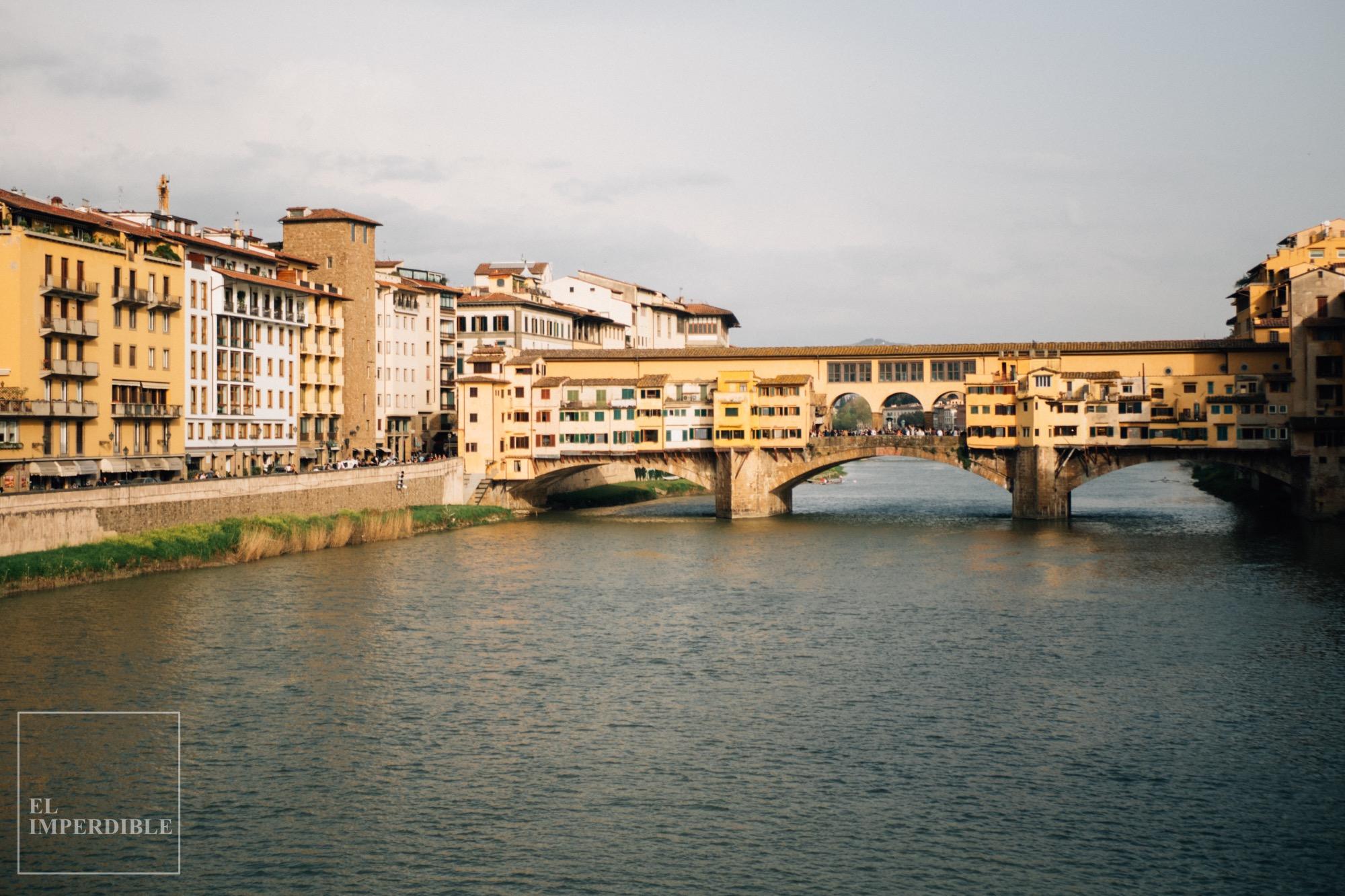 Lugares que ver en Florencia Ponte Vecchio