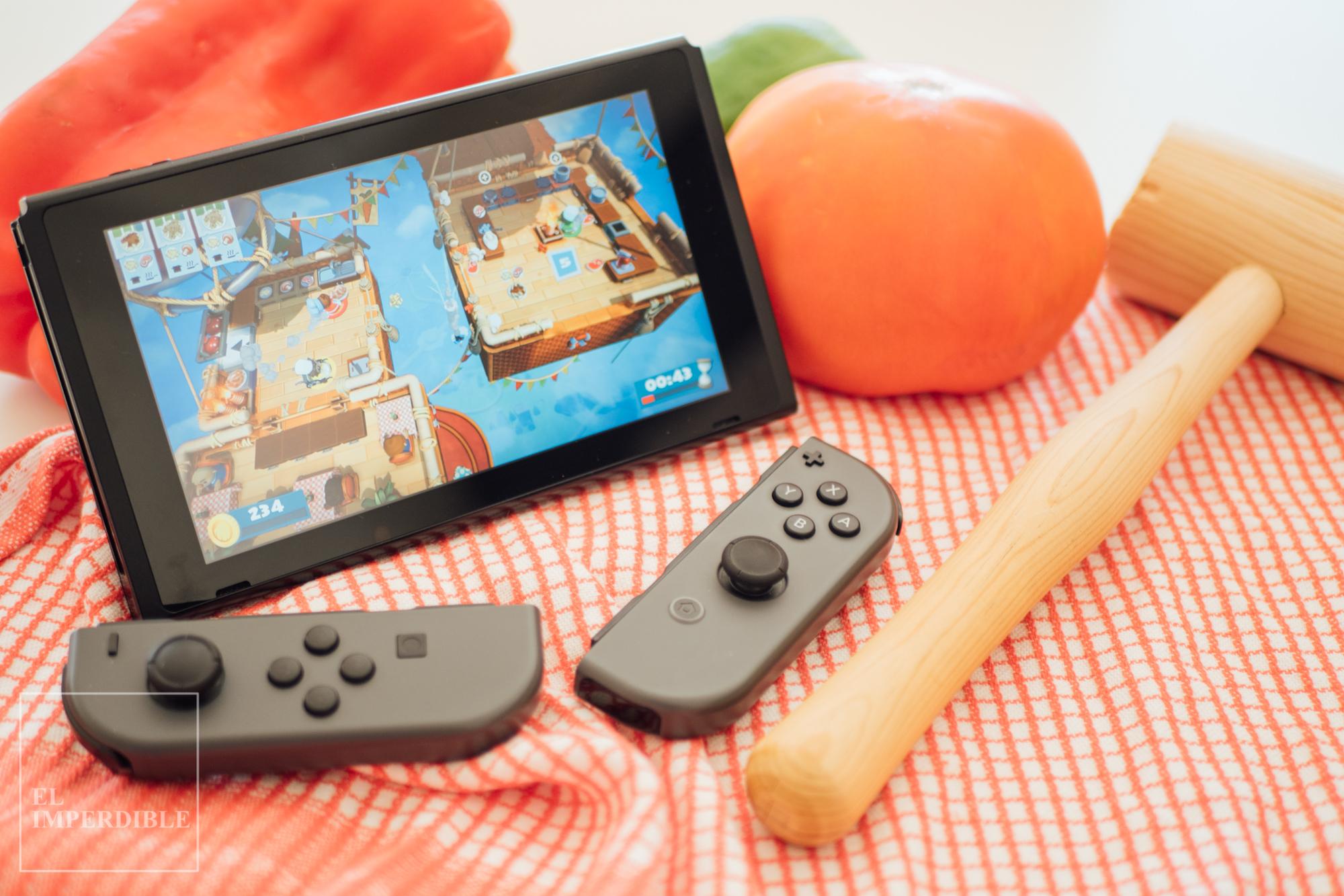 Overcooked 2  los mejores juegos para Nintendo switch