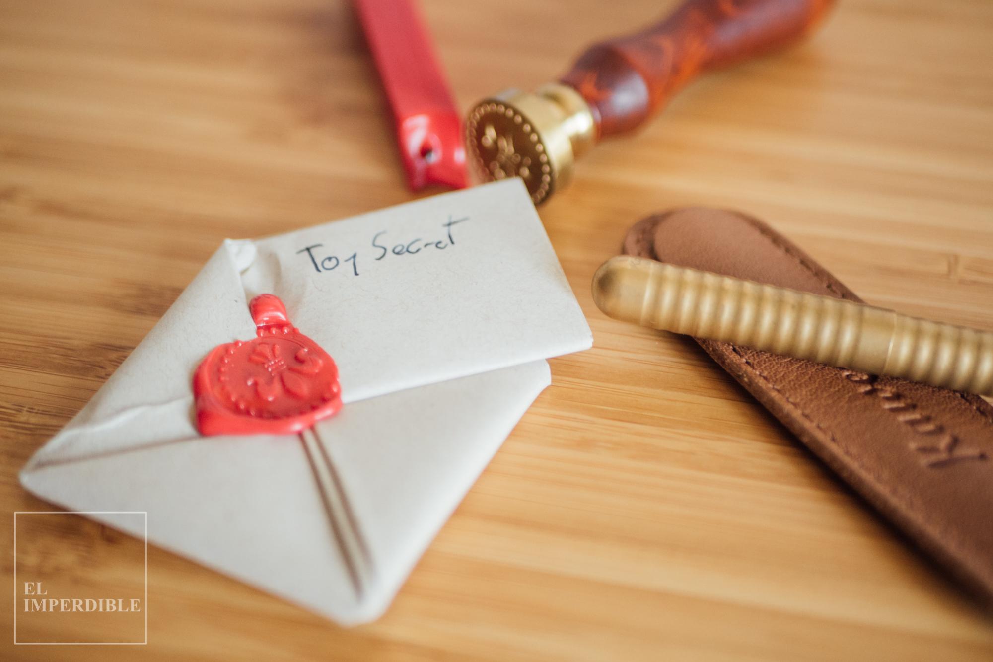 cómo escribir notas secretas con texto cifrado