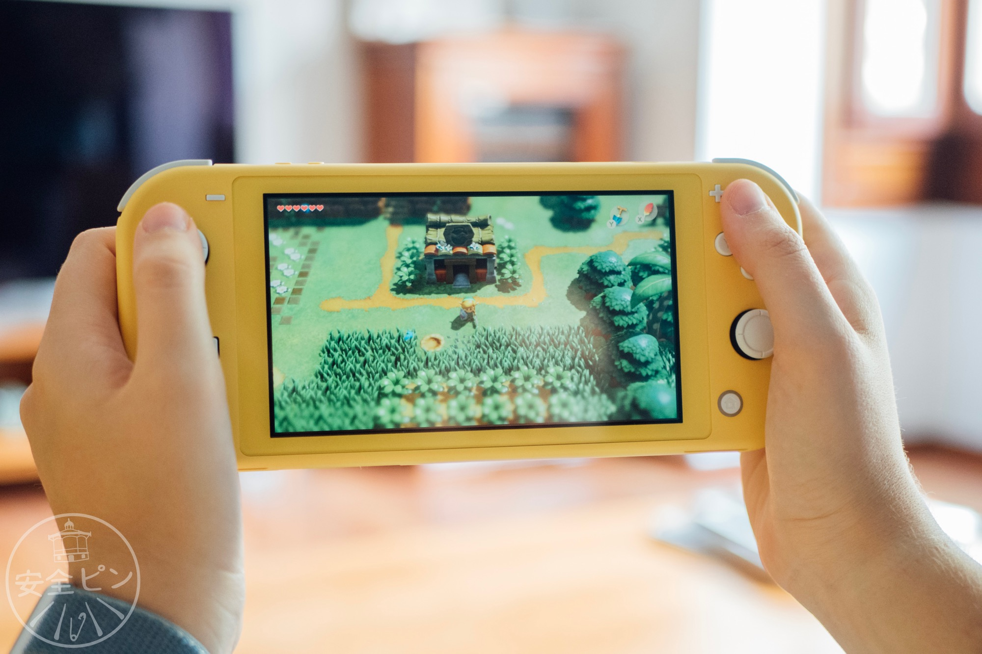 Nintendo Switch Lite Amarilla The Legend of Zelda Link's Awakening