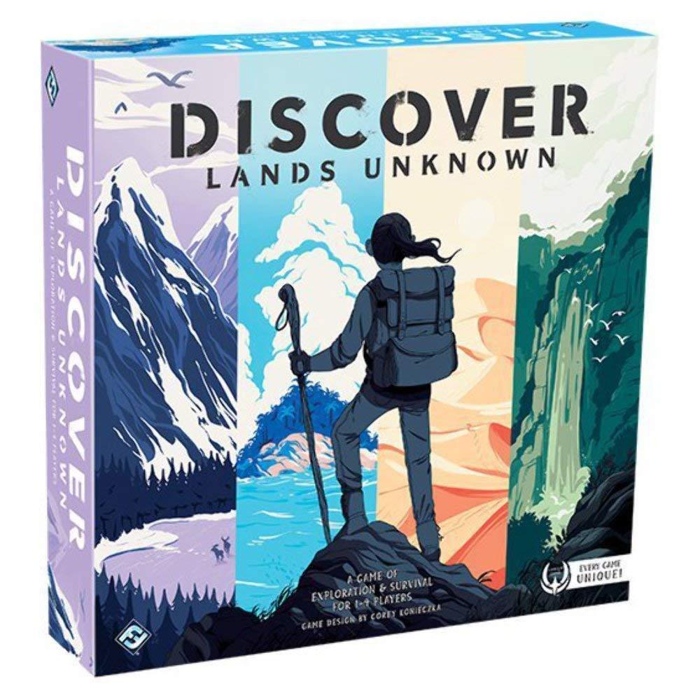 Discover lands unknown  Los mejores juegos de mesa