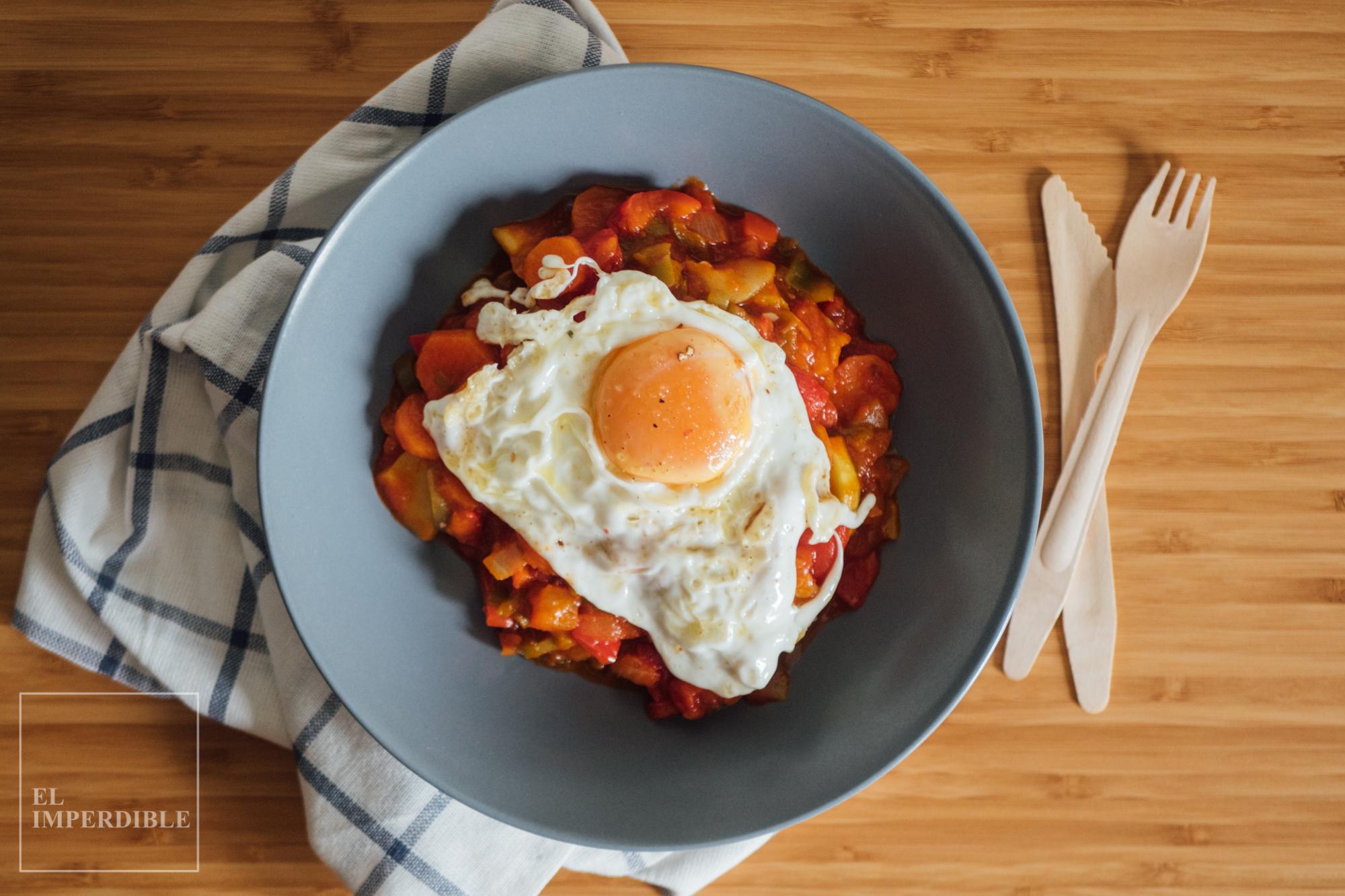 Como hacer pisto manchego receta rápida para comer verduras