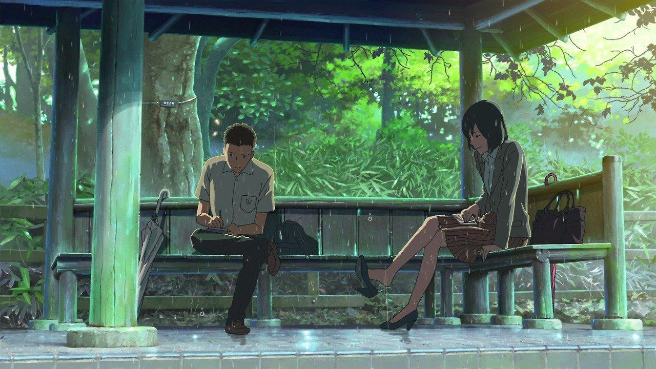 el jardín de las palabras las mejores películas anime