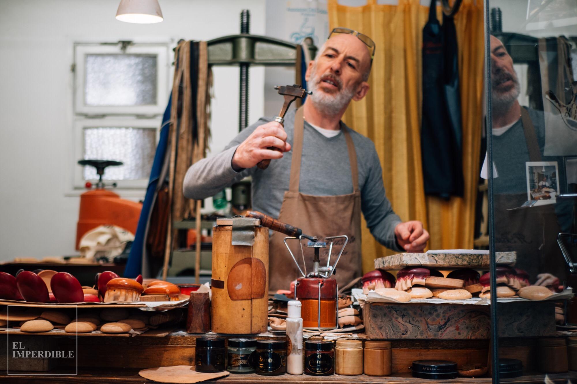Il Bussetto, los últimos artesanos del cuero en Florencia