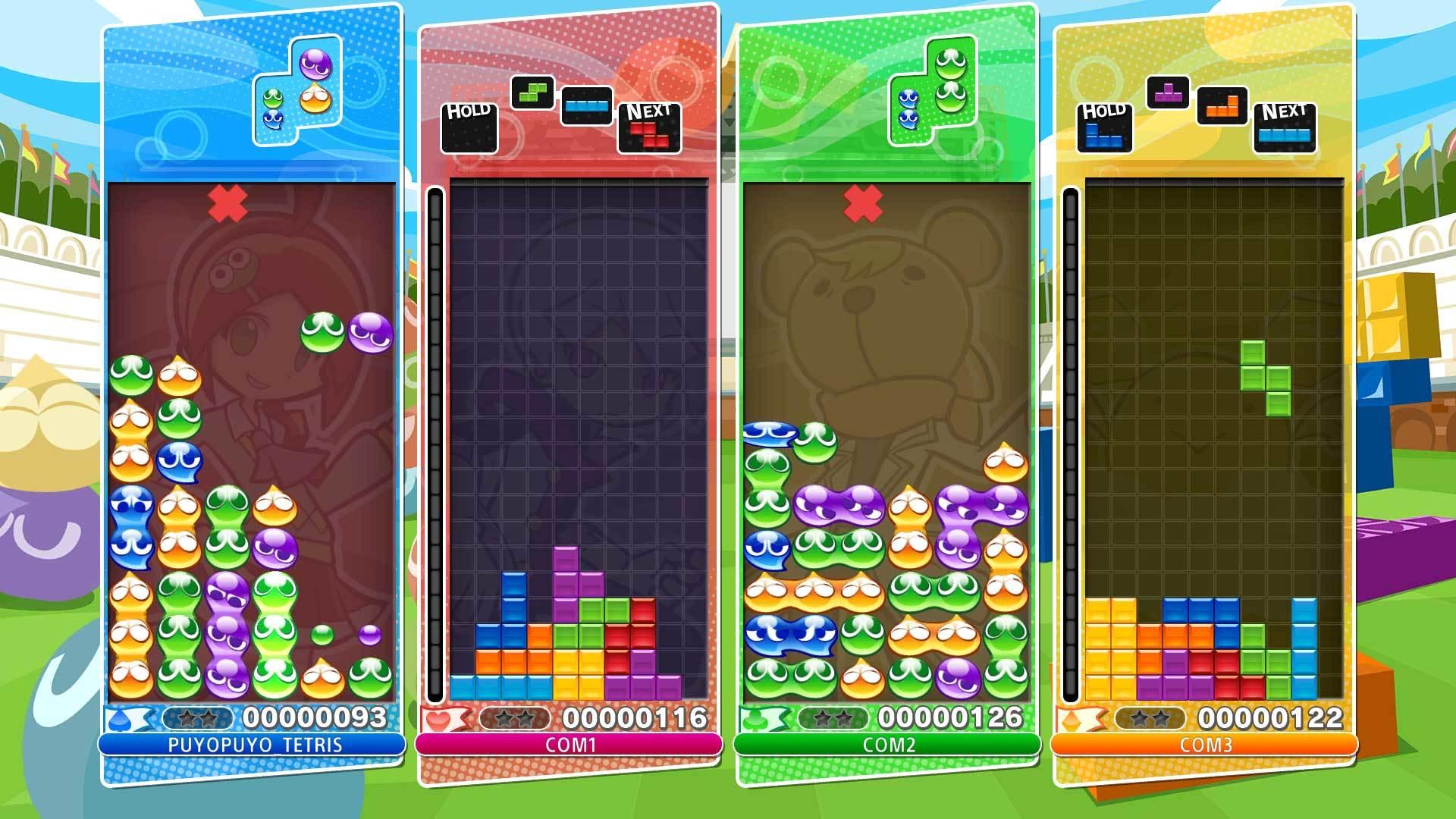 Puyo Puyo Tetris los mejores videojuegos con multijugador local