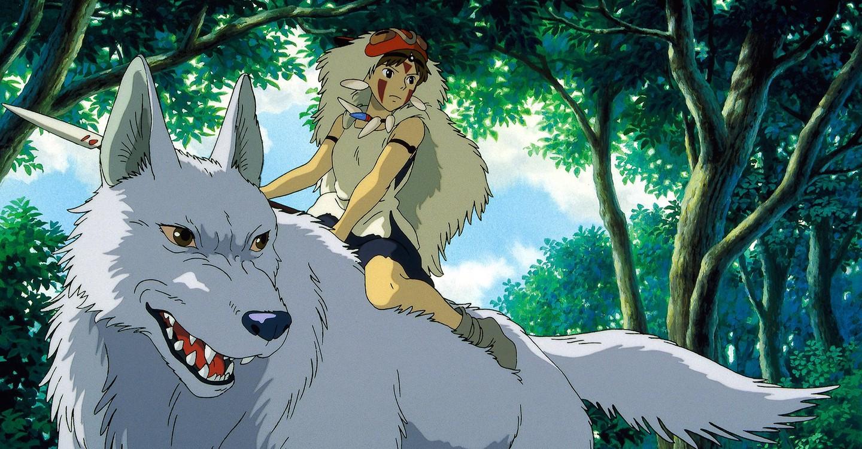 la princesa Mononoke las mejores películas anime