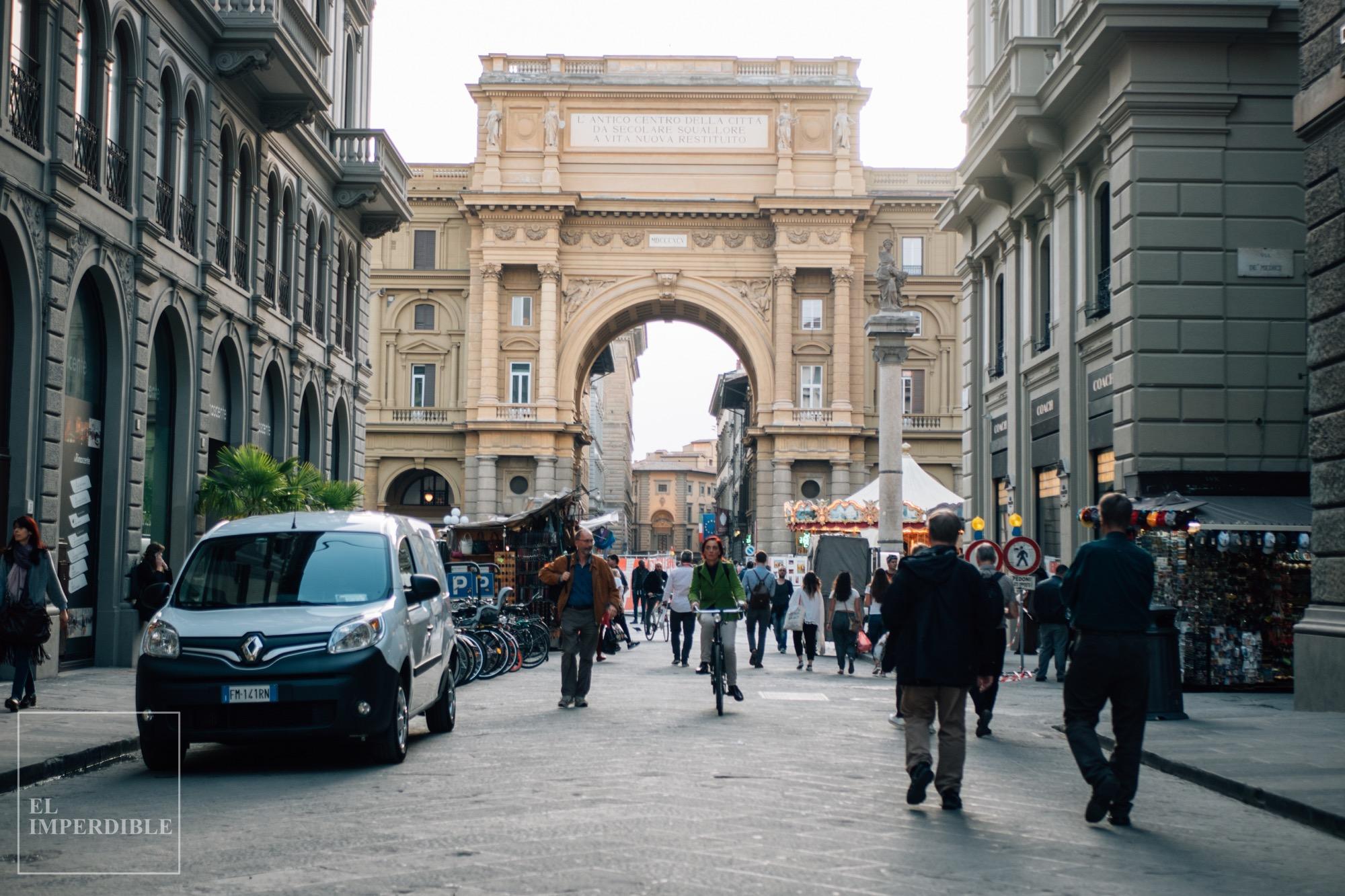 Las mejores tiendas para ir de compras por Florencia