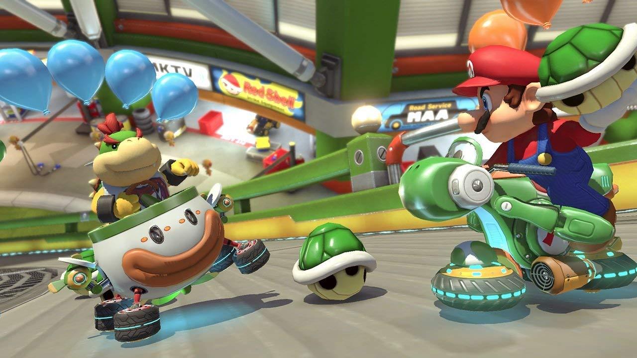 Mario Kart 8 Deluxe los mejores videojuegos con multijugador local