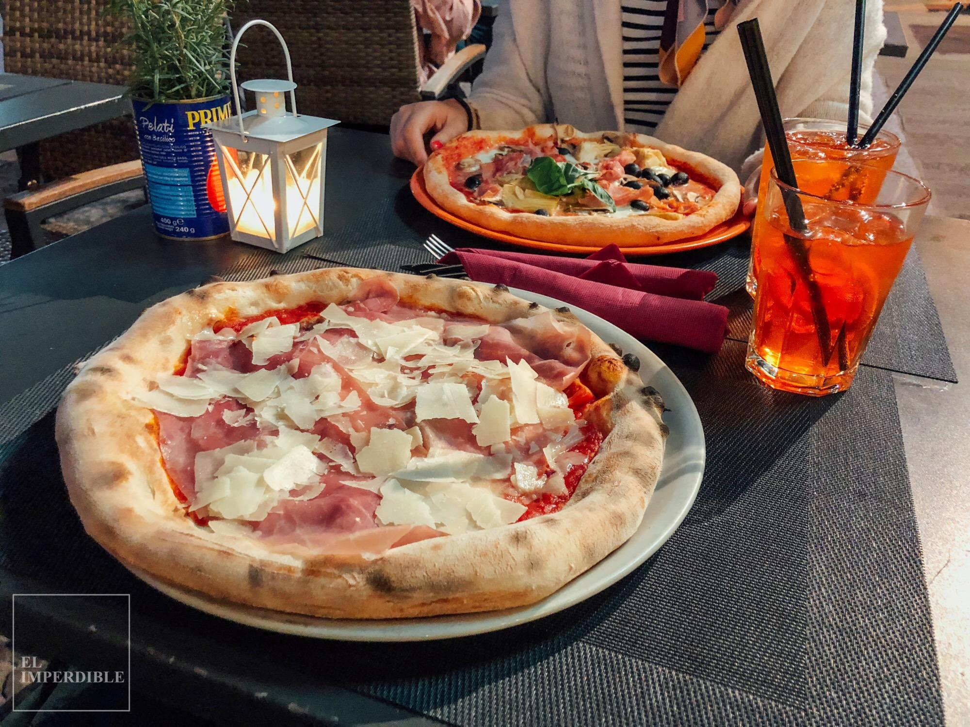 Sitios donde comer bien en Florencia Sin Gluten Mister Pizza