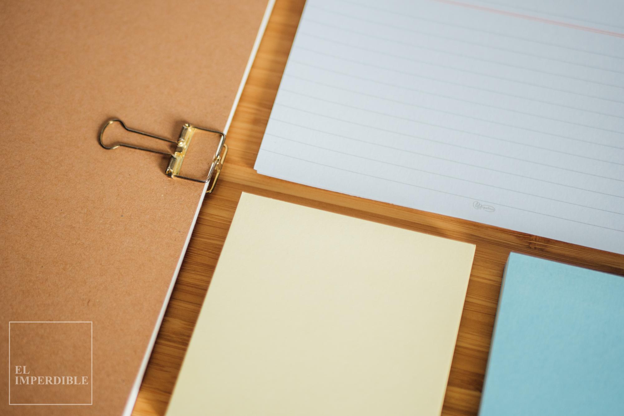 Kit de papelería para escritores