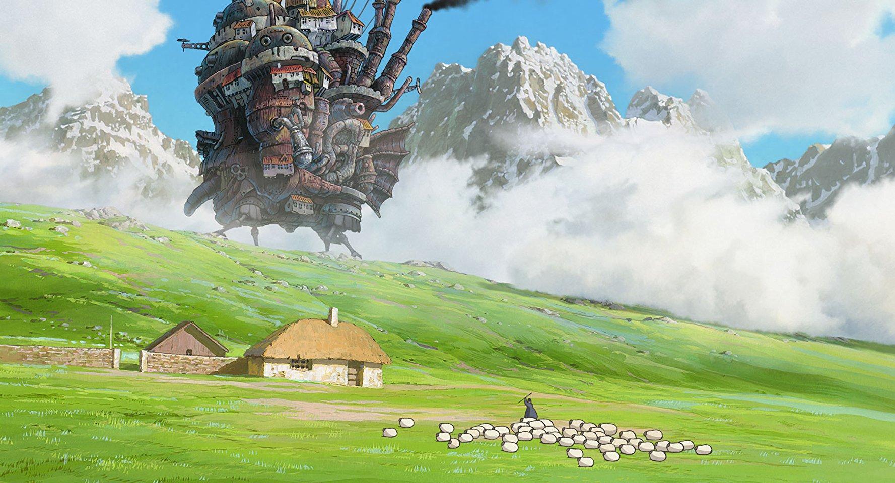 El castillo ambulante las mejores películas anime