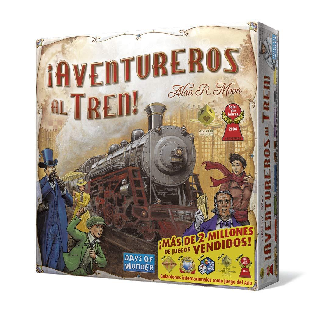 Aventureros al tren Los mejores juegos de mesa