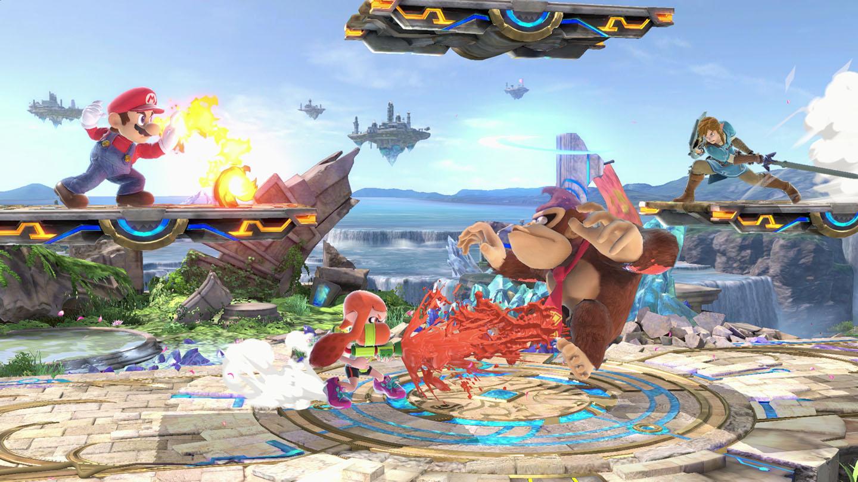 Super Smash Bros Ultimate los mejores videojuegos con multijugador local
