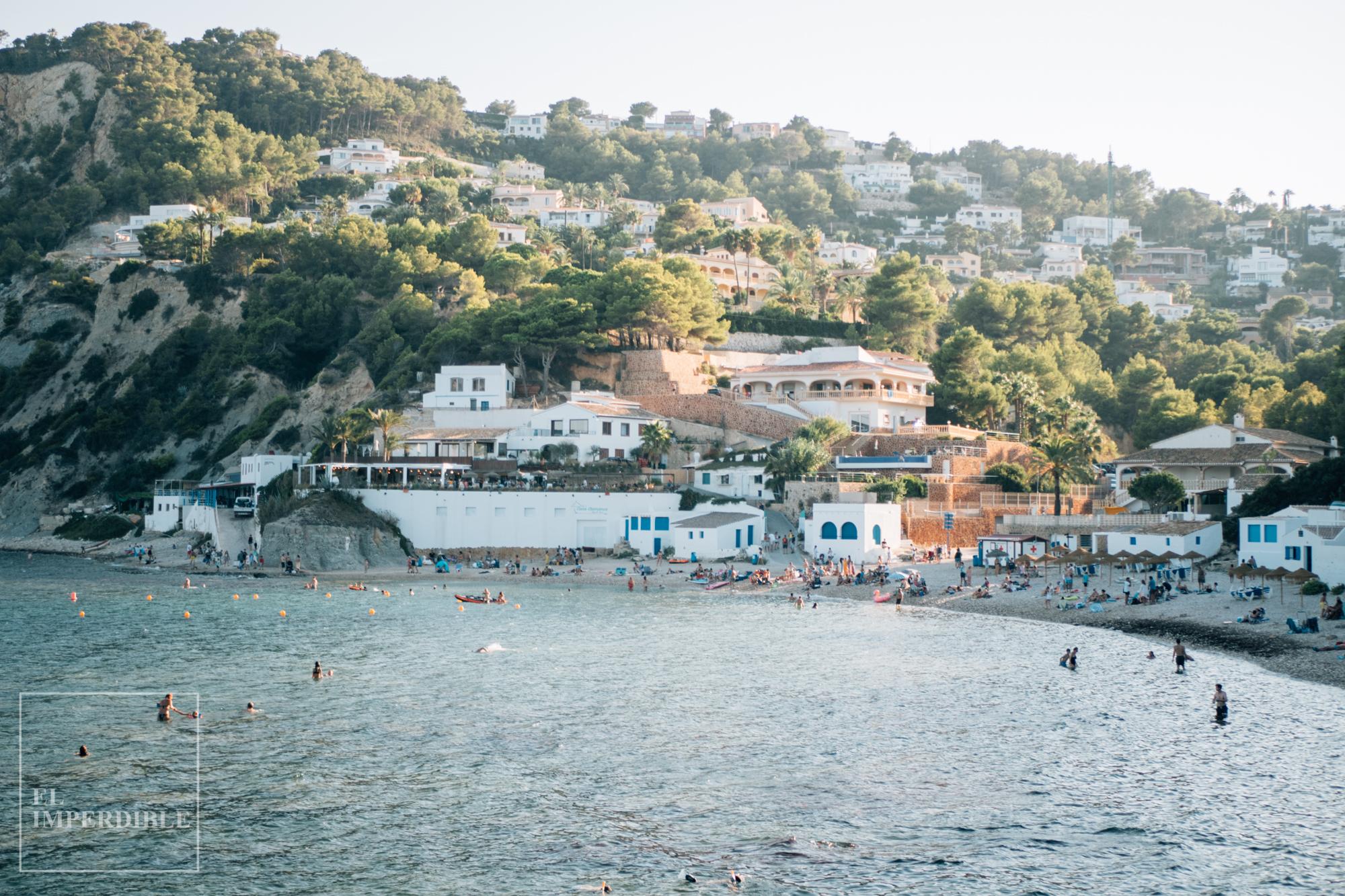 La Barraca Portitxol la mejor cala de Alicante y la Comunidad Valenciana
