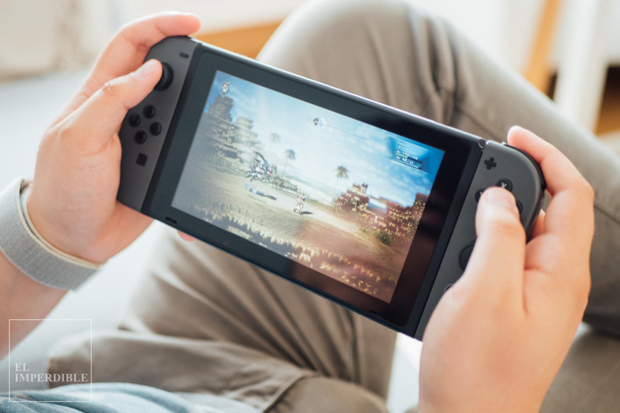 Octopath Traveler  los mejores juegos para Nintendo switch