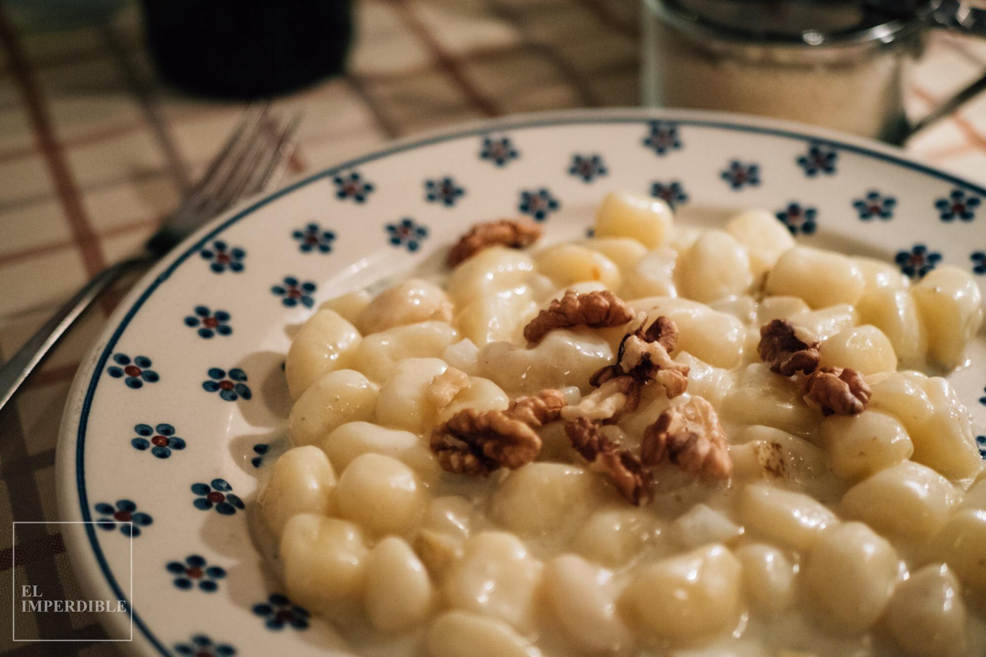 Sitios donde comer bien en Florencia Sin Gluten Hostaria Il Desco Pasta