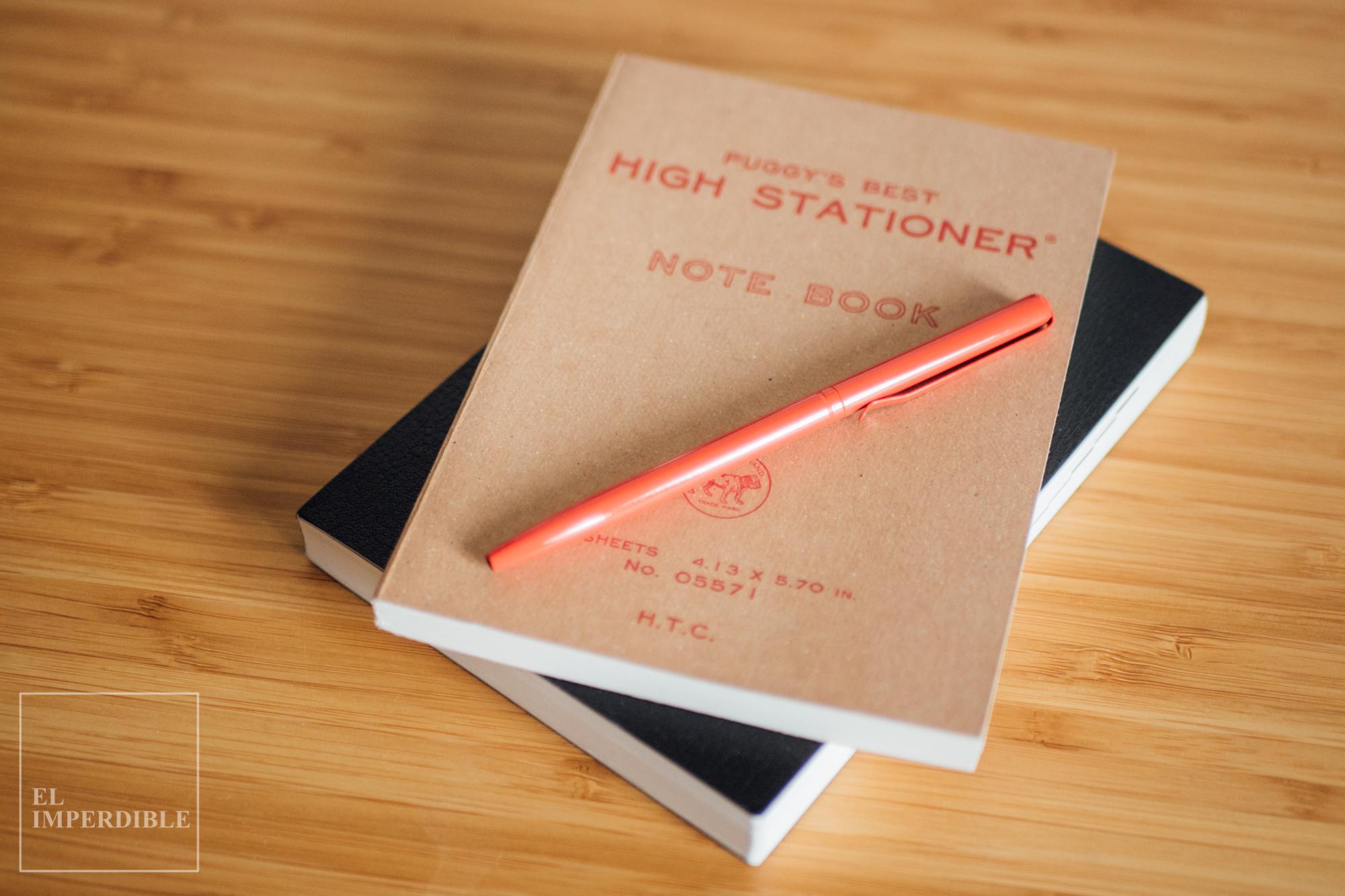 Hightide Penco la mejor papelería japonesa de estilo retro