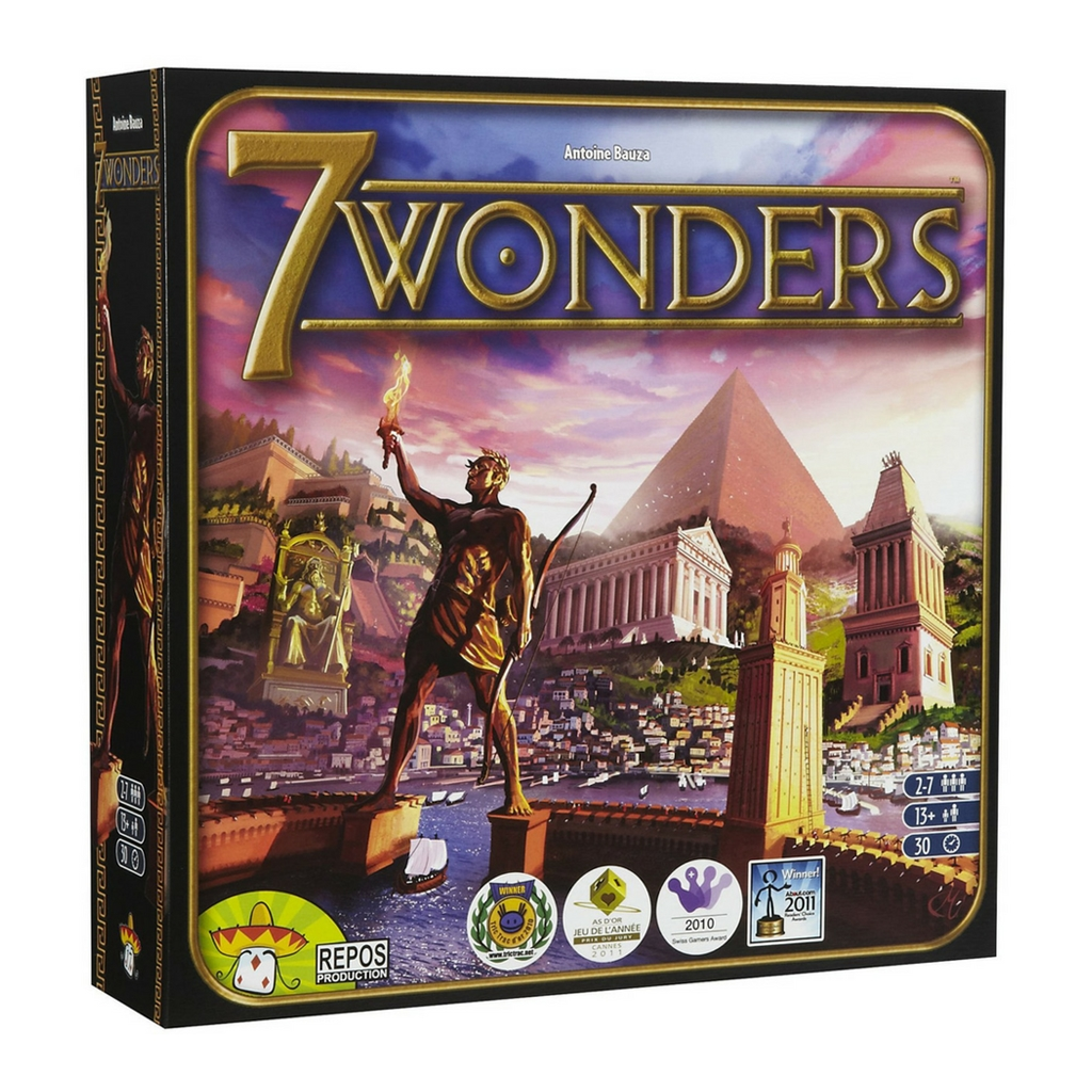 7 Wonders Los mejores juegos de mesa